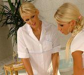 Sandy, Dorina & Clara G. Lesbian Threesome 3