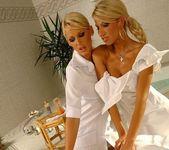 Sandy, Dorina & Clara G. Lesbian Threesome 5