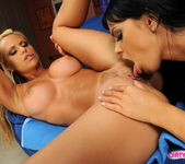 Horny Lesbians Black Angelika & Wivien 13