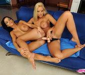 Horny Lesbians Black Angelika & Wivien 17