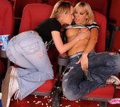 Horny Lesbians Sandy & Blue Angel 4
