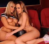 Horny Lesbians Sandy & Blue Angel 20