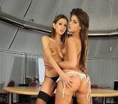 Lesbian Sex with Eufrat & Defrancesca Gallardo 5