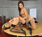 Lesbian Sex with Eufrat & Defrancesca Gallardo 11