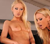 Lesbian Sex with Sandy and Jasmin 18