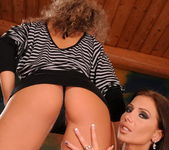 Lesbian Sex with Candy Strong and Angie Angel 2