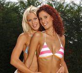 Dorina & Leanna Sweet Lez Action 2