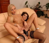 Lesbian Action with Jenna Lovely & Defrancesca Gallardo 18