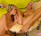 Blue Angel & Sun Licking Pussy 19