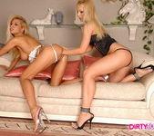 Lesbian Sex with Jasmin & Clara G. 9