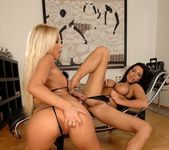 Horny Lesbians Adriana Russo & Candy Strong 6