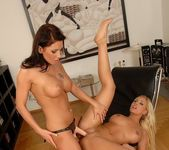 Horny Lesbians Adriana Russo & Candy Strong 13