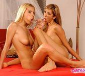 Jasmine Rouge & Britney Eating Pussy 17