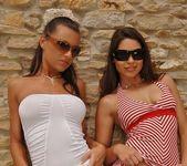 Zafira & Ciara Bugatti Playing Lesbians 2
