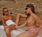 Zafira & Ciara Bugatti Playing Lesbians 8
