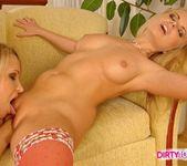 Horny Lesbians Tiffany Diamond & Dora Venter 13