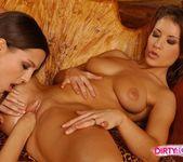 Horny Lesbians Eve Angel & Lara Craft 16
