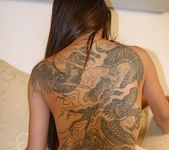 Tattooed Dirty Oriental Michelle Jiu Anal Fucking 17