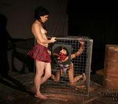 Slave girls Miho Lechter & Madison Lovely Fucked 12