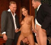 Salome Double Penetrated 2
