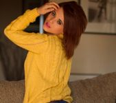 Emma Lou Yellow Jumper - Skin Tight Glamour 2