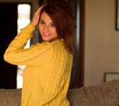 Emma Lou Yellow Jumper - Skin Tight Glamour 3