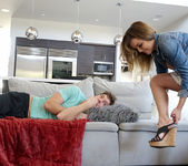 Dillion Harper - Step-Sister Curious About Brother's Cock 5