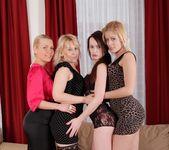 Emma, Erin, Samantha White, Diamond - Cock Crazy Orgies #02 5