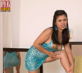 Isabella de la Cruz - Lick Her Through Her Hose - Leg Sex 8