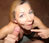 Lisa Demarco - Give Me A Facial - Over 40 Handjobs 12