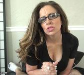 Sienna Lopez - Demanding Boss Milks Her Intern 11