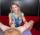 Alina Long - Cock Milking Nymphomaniac - Over 40 Handjobs 7