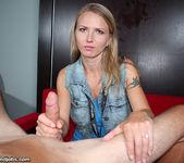 Alina Long - Cock Milking Nymphomaniac - Over 40 Handjobs 8