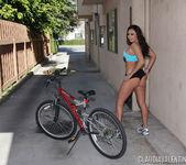 Claudia Valentine in Beautiful Bike Ride 11
