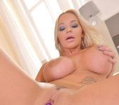 Luscious Wet Dreams: Busty Blonde Orgasms in Her Bedroom 12