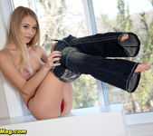 Riley Anne - Perfect-10 tits. - Naughty Mag 15