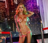 Sarah gets nude in the night club - Sarah Jessie 5