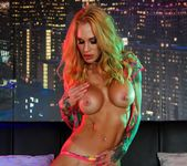 Sarah gets nude in the night club - Sarah Jessie 12