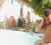 StepBrother and StepSister Fucking In The Jacuzzi - SpyFam 6