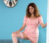 Helena Volga - Thigh High Stockings - Anilos 2