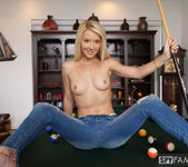 Laura Bentley - Stepmom Plays With Stepson's Cue Stick 3
