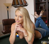 Laura Bentley - Stepmom Plays With Stepson's Cue Stick 4