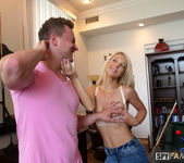 Laura Bentley - Stepmom Plays With Stepson's Cue Stick 7