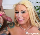 Lolly gets another big facial from Aaron Wilcoxxx 11