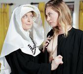 Nina Hartley, Mona Wales - Beg God for Forgiveness 4