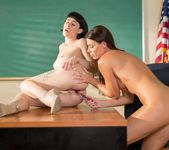 Teacher and Substitute: Lessons in Lesbian Anal 12