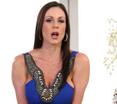 Brunette MILF Kendra Lust in Stockings 2