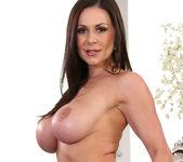Brunette MILF Kendra Lust in Stockings 9