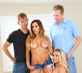 Swinging Couples' Wife-Swap DP Party! - Evil Angel 5