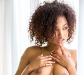 Noel Monique Strips Out Of Her Cute, Transparent Dress 15